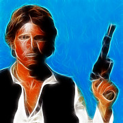 Sith Prints - Han Solo Print by Paul Ward
