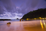 Hana Photos - Hana Bay Afterdark  by Dustin K Ryan