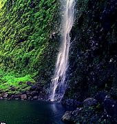 Na Framed Prints - Hanakoa Falls  Framed Print by Kevin Smith