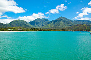 Hanalei Metal Prints - Hanalei Bay Metal Print by Kelly Wade