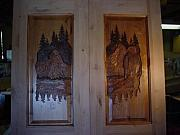 Stacey Mitchell - Hand Carved Entry Door ...