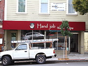 Castro Photos - Hand Job at San Franciscos Castro District by Wingsdomain Art and Photography