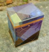 Purple Ceramics - Hand Made Slab Box by Emily Osborne