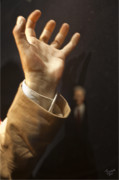 Digitale Photografie Prints - Hand... More Is Not To Say Print by Renata Vogl