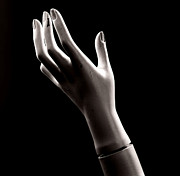 Arm Posters - Hand of mannequin Poster by Bernard Jaubert