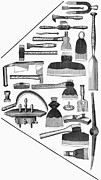 Hand Tools, 1876 Print by Granger