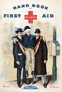 Bandage Prints - Handbook: First Aid Print by Granger