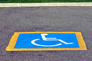 Handicap Posters - Handicapped reserved parking. Poster by Fernando Barozza