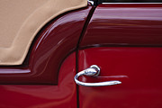 Old Car Door Photos - Handle With Curve by Dennis Hedberg