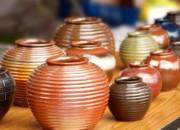 Handmade Pottery Print by Yali Shi