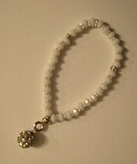 Great Jewelry - Handmade White Bracelet by Fatima Pardhan
