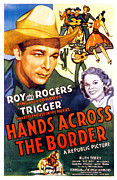 The Horse Metal Prints - Hands Across The Border, Roy Rogers Metal Print by Everett