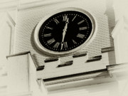 Dark Sepia Prints - Hands of Time Print by Tony Grider
