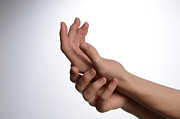 Holding Hand Posters - Hands Poster by Photo Researchers, Inc.