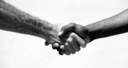 Michael Ledray Photography Photos - Handshake by Michael Ledray