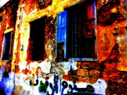Urban Landscape Art Prints - Handwritten No Parking Allowed in Beirut Print by Funkpix Photo  Hunter