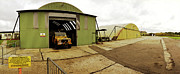 Bomber Command Photos - Hangars RAF Old Bucknham by Jan Faul