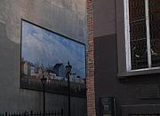 Hanging Art In N Y C  Print by Rob Hans