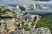 Ledge Photos - Hanging In North Carolina by Adam Jewell