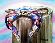 Terry J Marks Sr - Hanging In There Crab