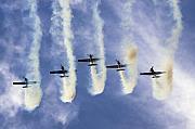 Hanging On The Sky  Print by Angel  Tarantella