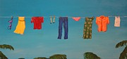Jennifer Lynch Art - Hanging Out To Dry by Jennifer Lynch