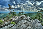 Ledge Photos - Hanging Rock Overlook by Adam Jewell