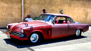 Transportation Acrylic Prints - Hanging With My Buddy . 1953 Studebaker .  5D16513 Acrylic Print by Wingsdomain Art and Photography