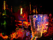 Night Out Painting Prints - Hangover Print by Carl Rolfe