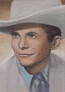Singers Pastels - Hank pastel number two by Pamela Humbargar