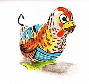 Child Toy Originals - Hannah Hen by Glenda Zuckerman