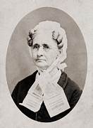 1860s Prints - Hannah Simpson Grant 1798-1883, Mother Print by Everett