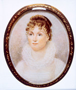 Jt History Photos - Hannah Van Buren 1783-1819, Wife by Everett