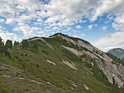 North Cascades Prints - Hannegan Peak in North Cascades National Park Print by Brendan Reals