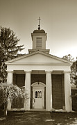 Indiana Photography Prints - Hanover College Chapel Print by Steven Ainsworth