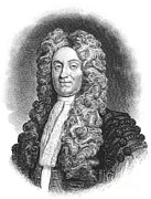 Historical Physician Framed Prints - Hans Sloane, Irish Physician Framed Print by Science Source
