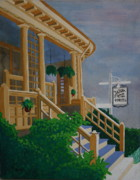 Guest Painting Prints - Hansen House Print by Paul Amaranto