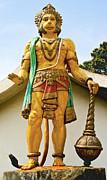 Hanuman At Dharamsala Print by Kantilal Patel