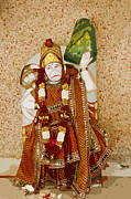 Ramayana Photo Prints - Hanuman Monkey God Print by Kantilal Patel