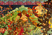 Antiquated Prints - Hanuman Mural - Sera Monastery Tibet Print by Craig Lovell
