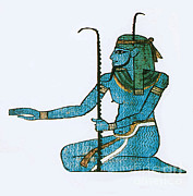 Egyptian Art Prints - Hapi, Egyptian God Print by Photo Researchers