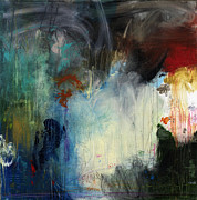Colorful Contemporary Mixed Media - Happens All The Time by Michel  Keck