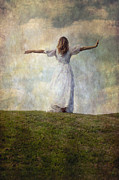 Dancing Girl Prints - Happiness Print by Joana Kruse