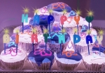 Cakes Posters - Happy Birthday Poster by Holly Kempe