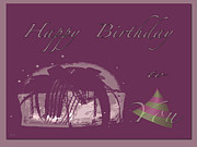 Happy Birthday Wish Framed Prints - Happy Birthday To You Framed Print by Debra     Vatalaro