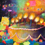 Happy Birthday Prints - Happy Birthday to You Print by Johane Amirault