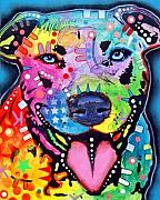 Pitty Art - Happy Bull by Dean Russo