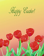 Happy Easter Framed Prints - Happy Easter Framed Print by Kristin Elmquist