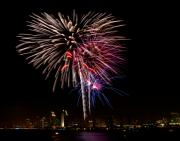 Fourth Photo Prints - Happy Fourth of July Print by Thanh Thuy Nguyen