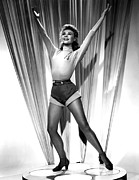 1950s Portraits Metal Prints - Happy Go Lovely, Vera-ellen, 1951 Metal Print by Everett